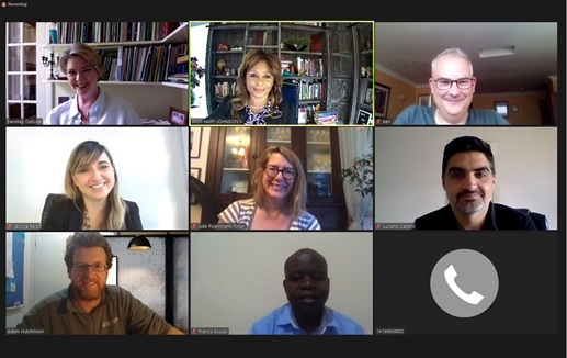 INCCIP Continues International Advocacy and Board Meetings via ZOOM Despite Global Pandemic –The work must go on.